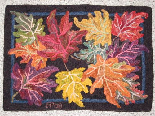Rambles: Traditional Rug Hooking: Hooked Rug Workshop At Celtic
