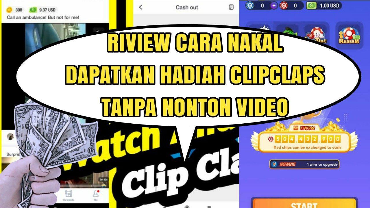 Cara Hack Aplikasi Clipclaps Video Hadiah Aplikasi