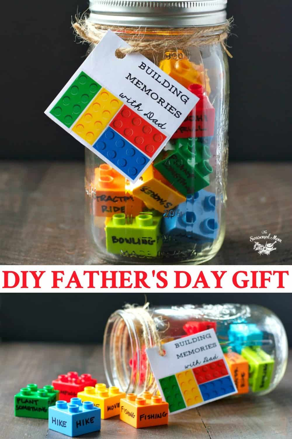 DIY Father's Day Gift: Building Memories with Dad | Father's day diy, Homemade fathers day gifts ...