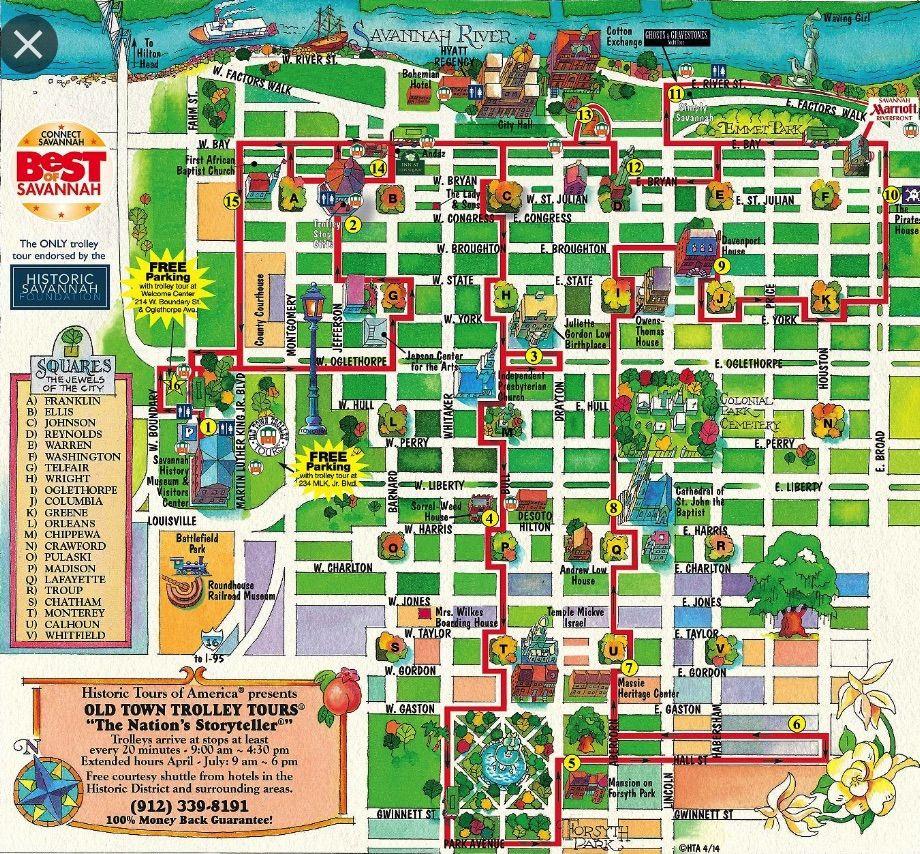 Savannah Historic District Savannah Chat Travel Savannah Savannah Tours