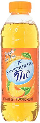 San Benedetto Iced Tea Peach 12 Count For More Information Visit Image Link Peach Tea Iced Tea Healthy Drinks