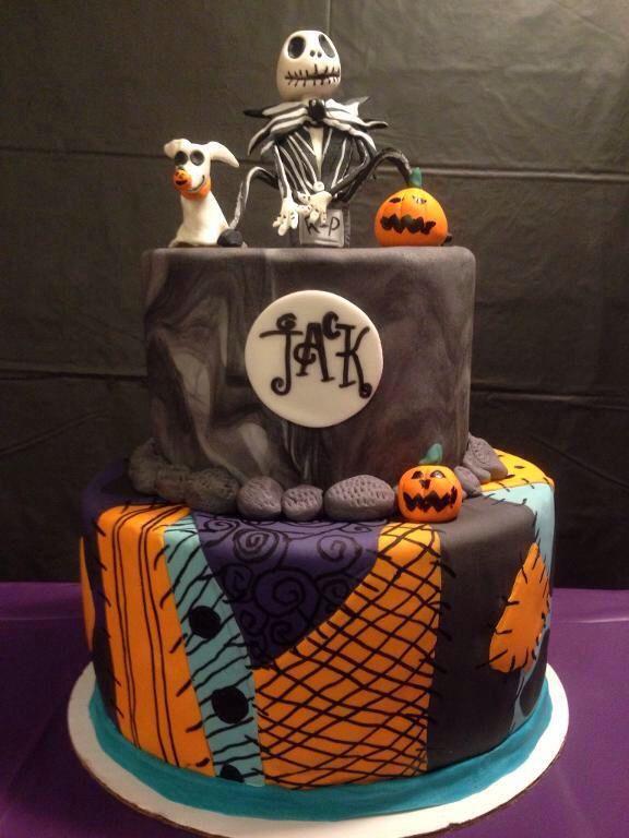 Jack Skellington Birthday Cake Via Craftsy Stevens Bday
