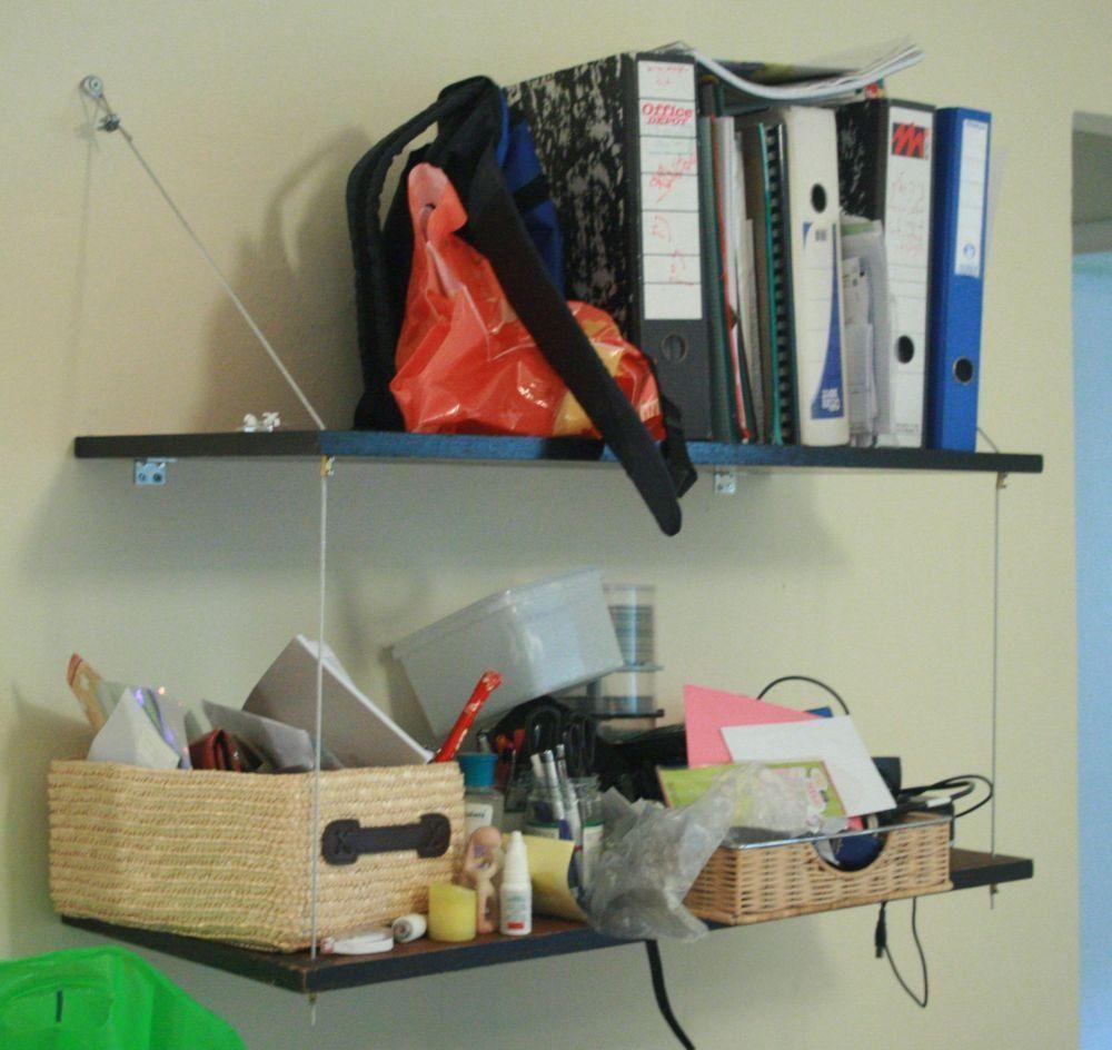 Diy tutorial diy dorm room crafts diy floating shelves for Diy crafts for dorm rooms