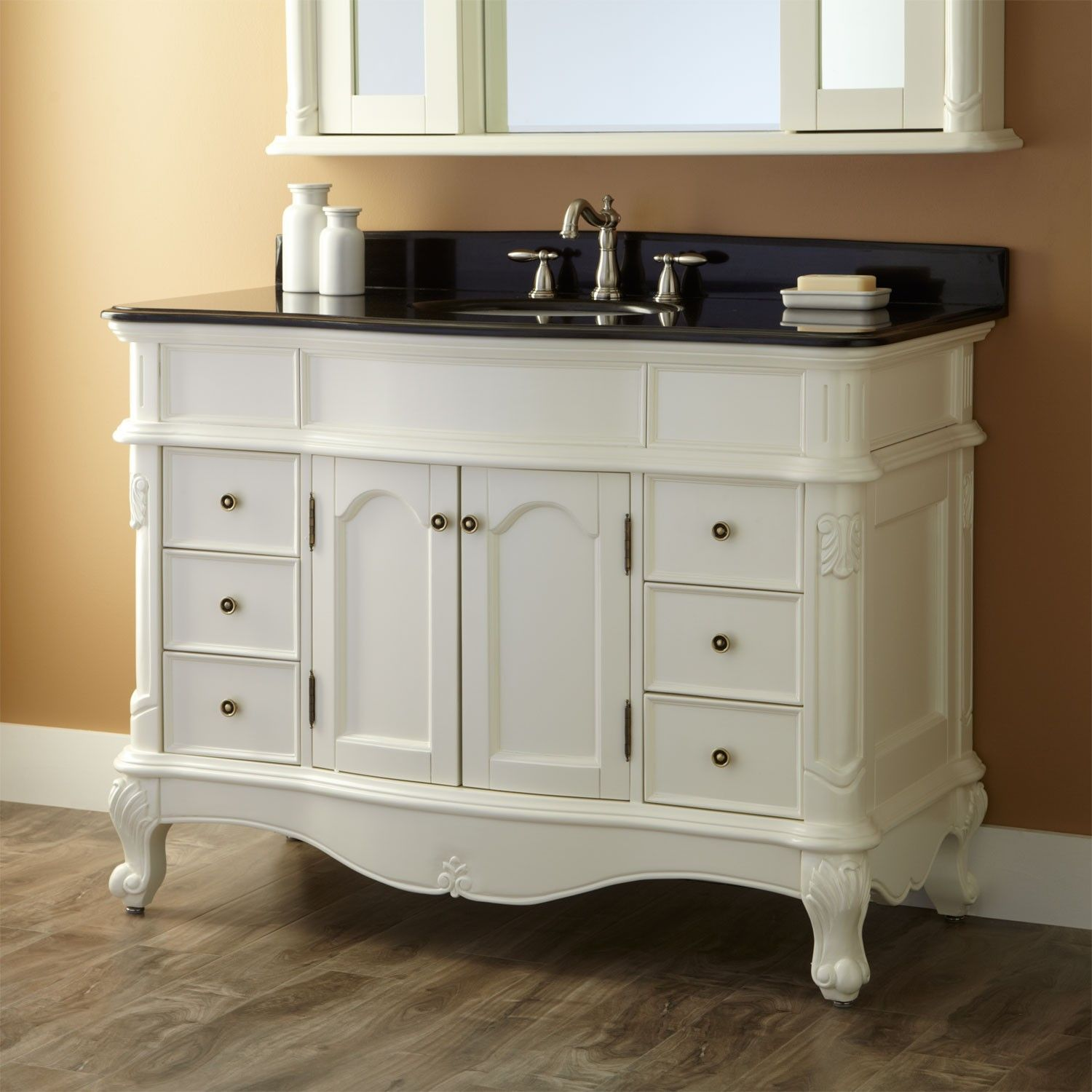 48 quot sedwick white vanity kitchen and bath ideas 16945
