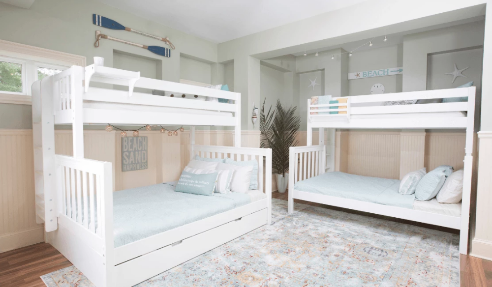 Queen Bunk Beds for the Whole Family! Queen bunk beds