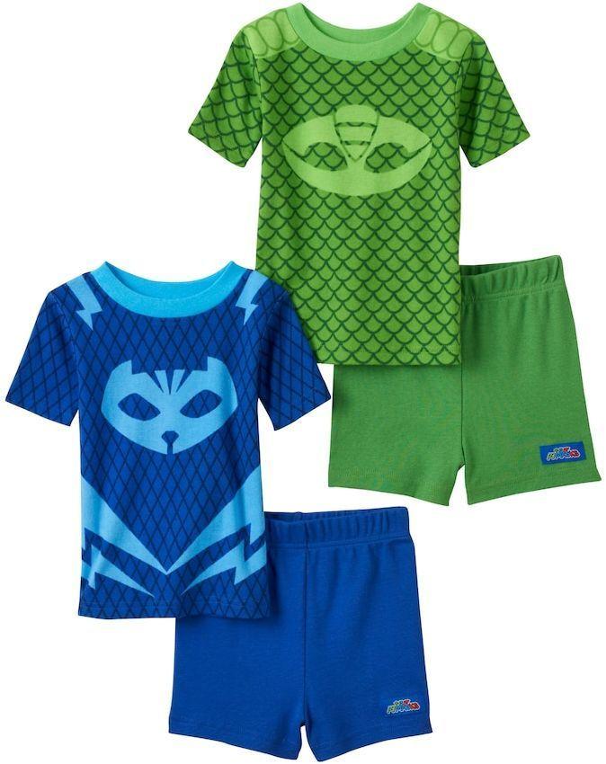 3acec6ec3895 Toddler Boy PJ Masks Catboy   Gekko 4-pc. Pajama Set