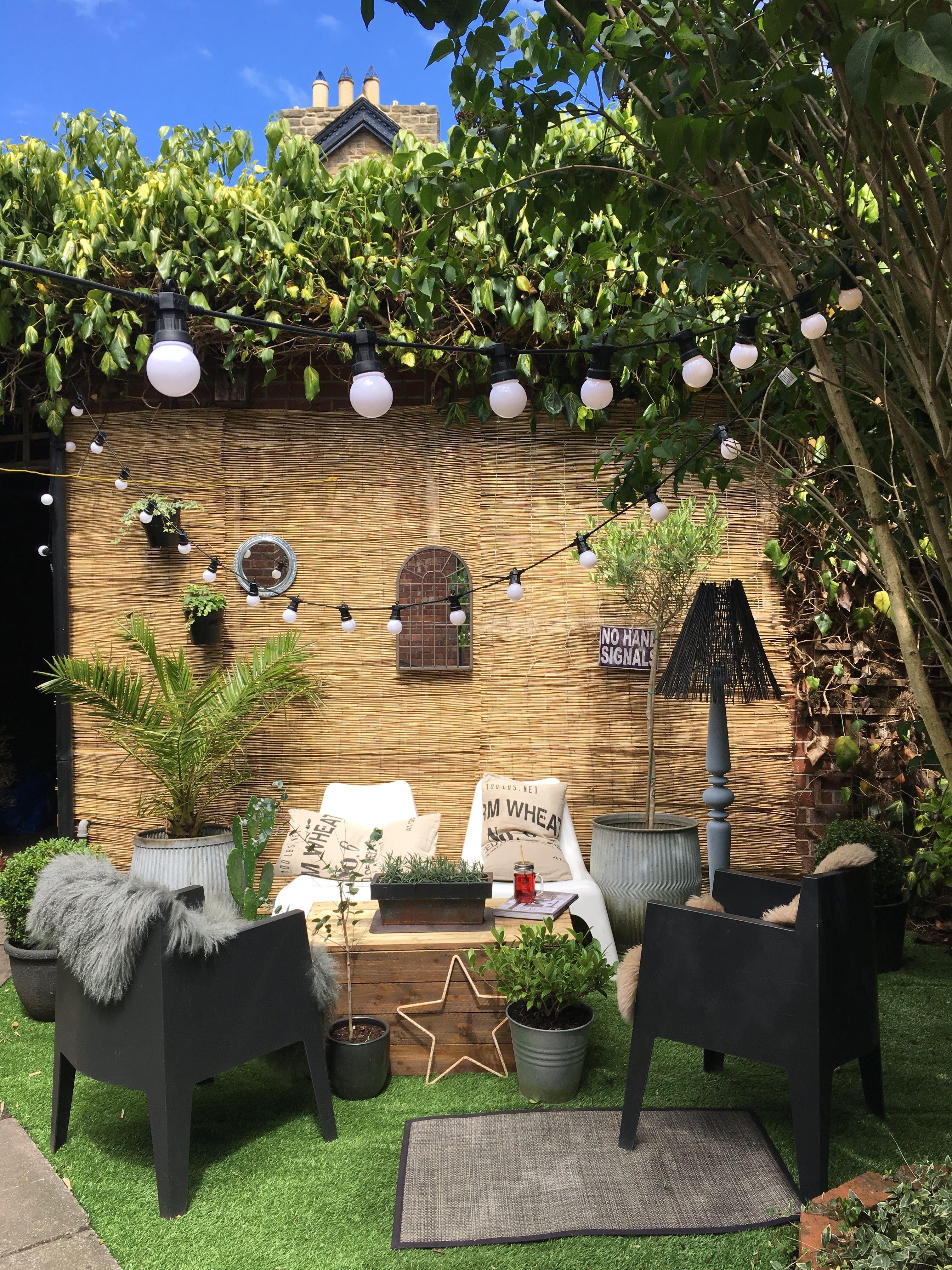 A Dark & Decadent UK Rental Home   Garden furniture uk, Garden ...