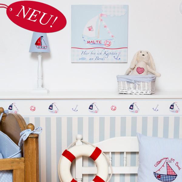 Kinderzimmerbordüre Segelboot (mit Bildern) Kinder