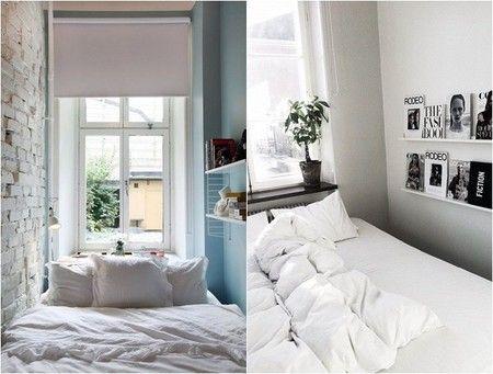 8 ideas para decorar dormitorios peque os decorar for Decoracion de dormitorios matrimoniales pequenos