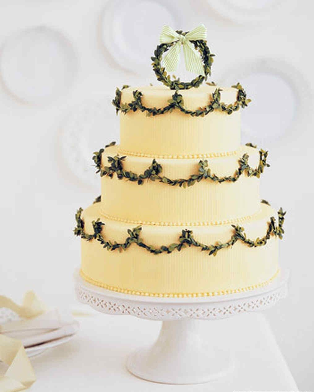 Wedding Cakes Decorated with Sugar Greenery | Brides | Wedding and ...