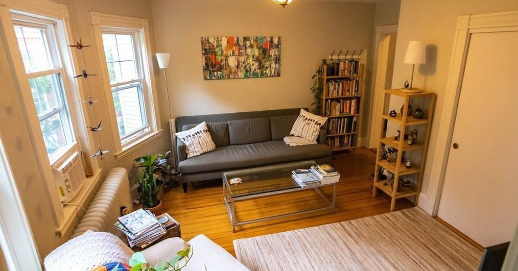 How much a month for a jamaica plain apartment with its