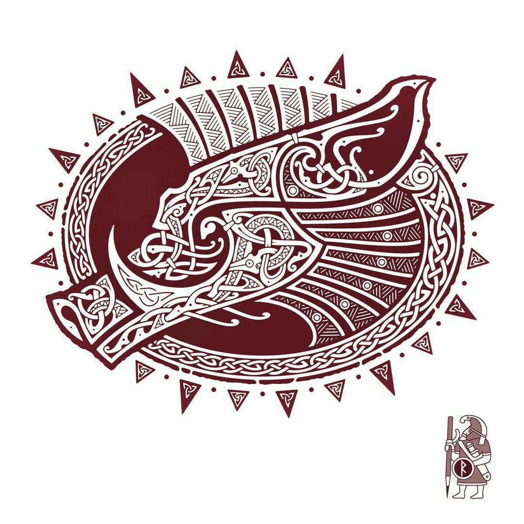 pingl par sur pinterest tatouage tatouage viking et tatouage. Black Bedroom Furniture Sets. Home Design Ideas