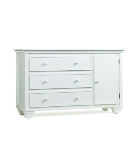 Graco Portland Dresser And Changing Table Combo In White Hutch Change Canada S Baby