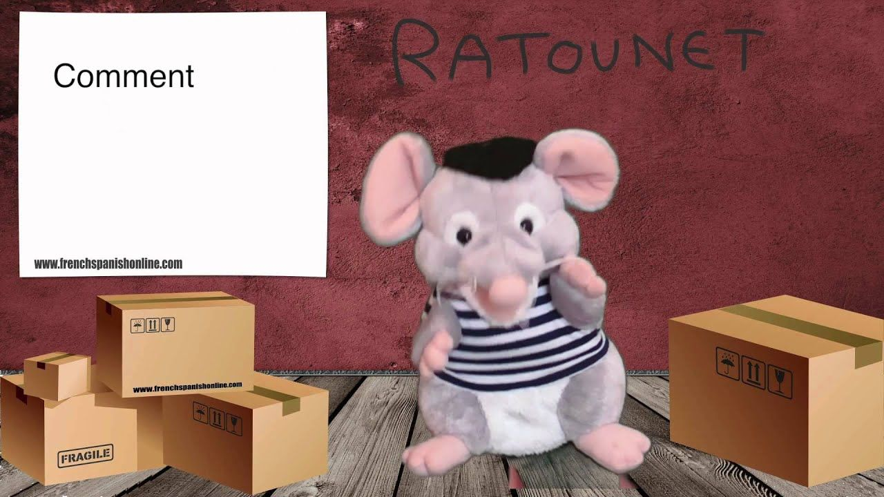 Ratounet Canta Comment ça Va Youtube Teddy Bear Animals Make It Yourself