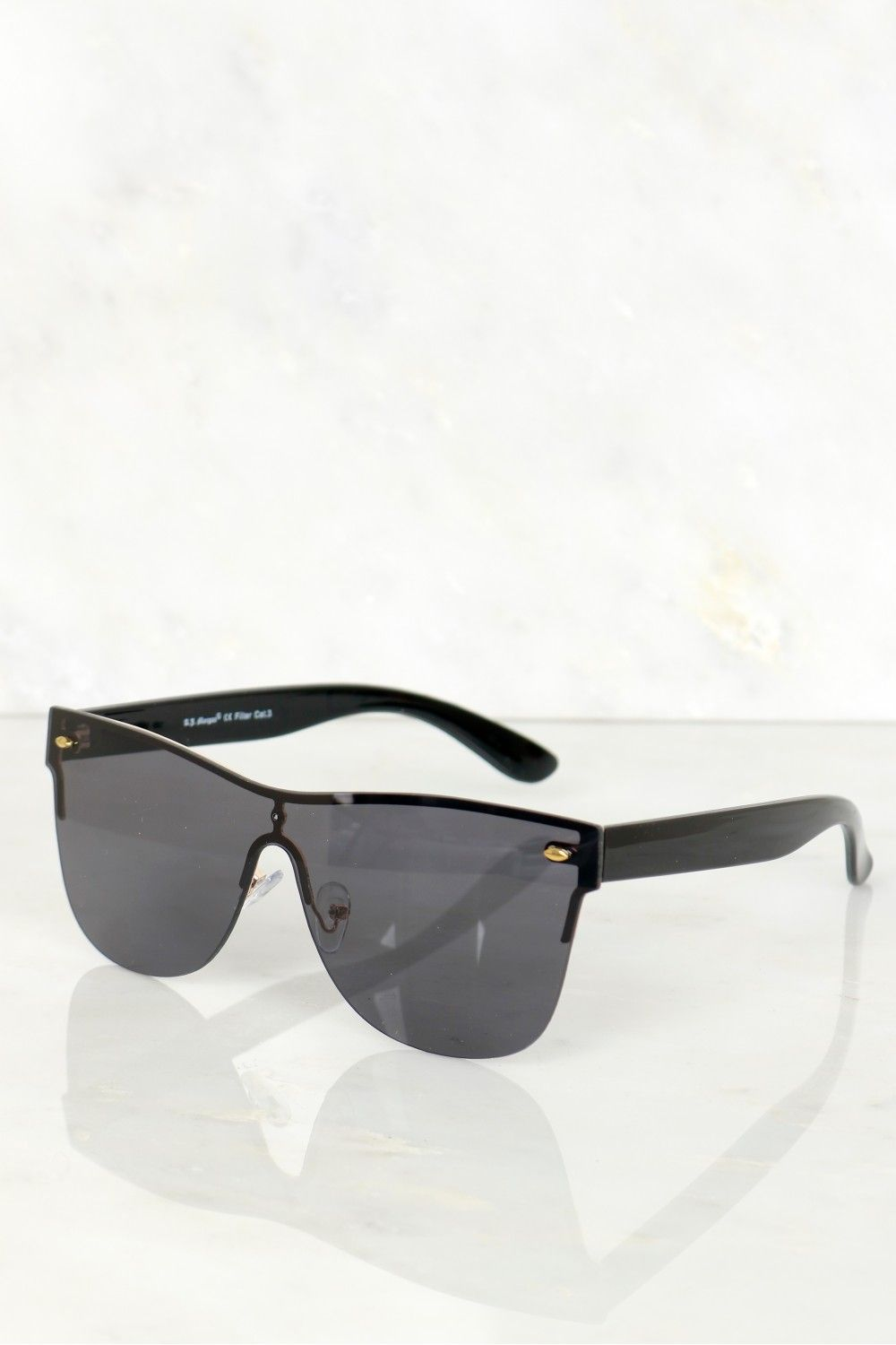 4cd3924da7 Mirrored Sunglasses Black