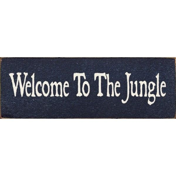 Welcome To The Jungle liked on Polyvore featuring home ...