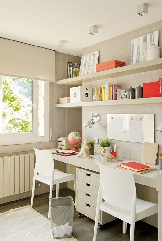 Interior Design Girls Study Room: 20+ Fun And Cute Study Room Ideas For Kids