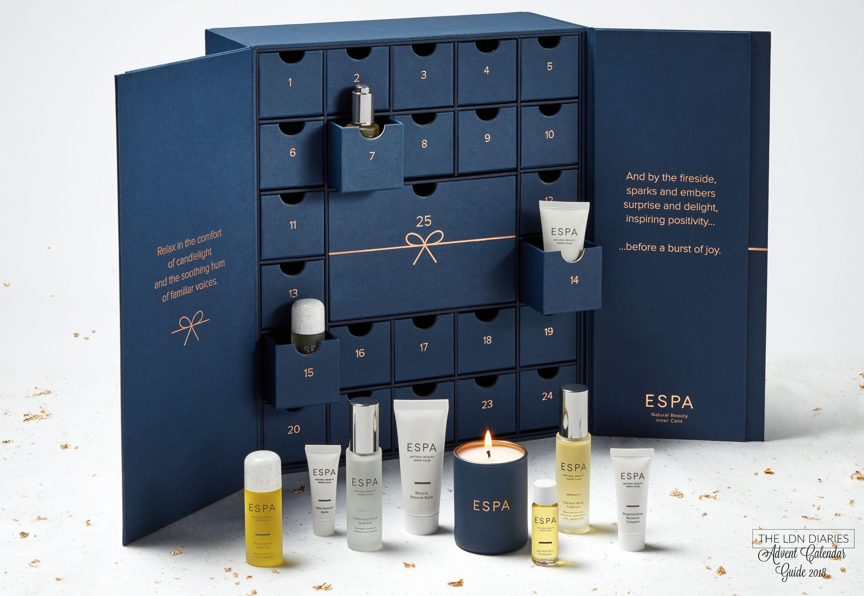 espa advent calendar 2018 the ldn diaries best beauty. Black Bedroom Furniture Sets. Home Design Ideas