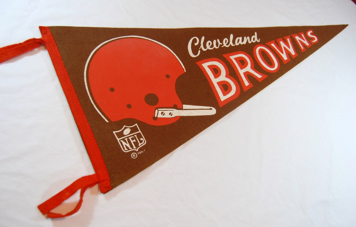 1960's Cleveland Browns Football Pennant, NFL Pennant