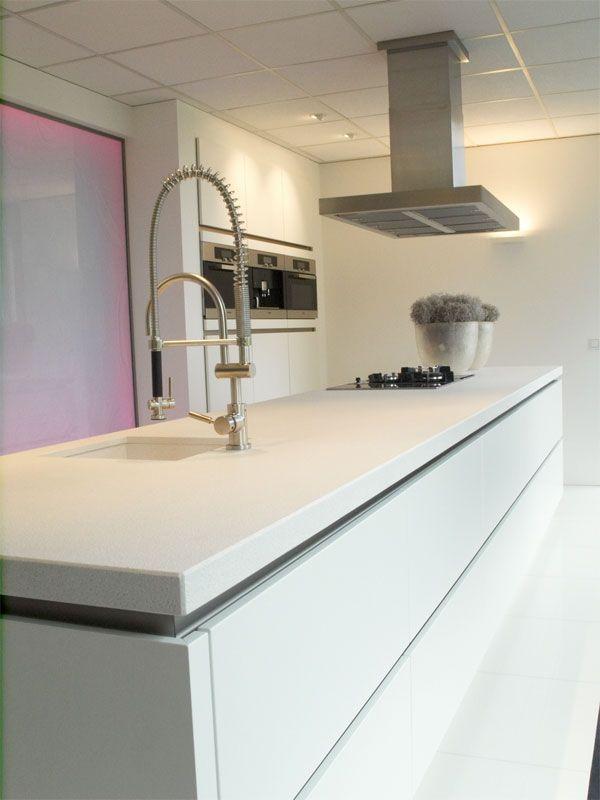 Zeyko Horizon Mat Wit Keuken Keuken Greeploos Witte Keuken