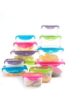 Cooks Tools 24 Piece Plastic Storage Set White One Size