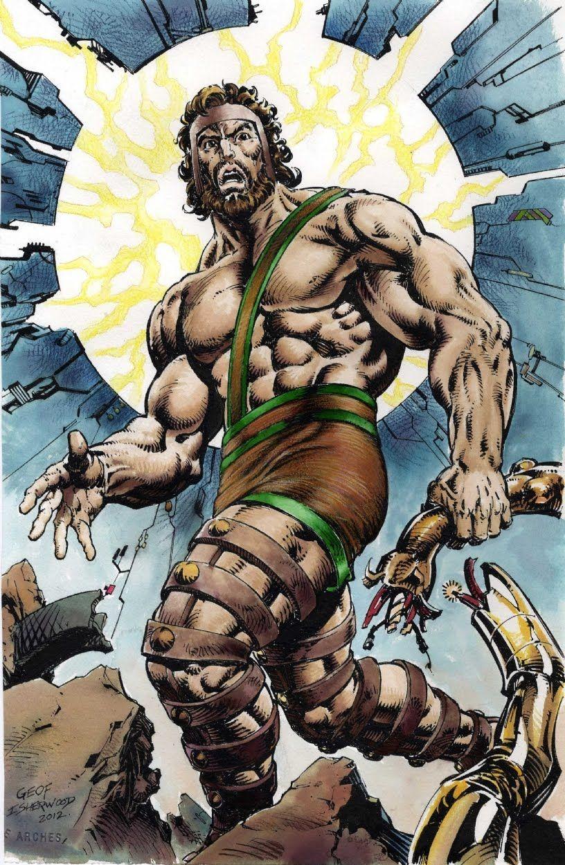 Hercules by Geof Isherwood
