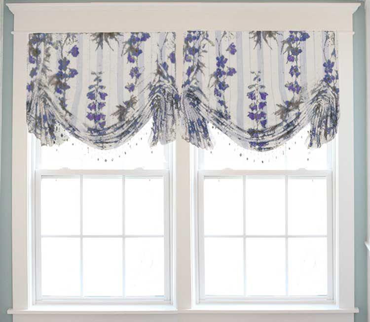 Ring Style London Valance In 2020 Fabric Window Shades Custom Valances Valance
