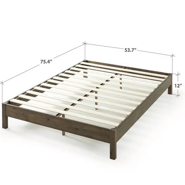 Priage By Zinus 12 Inch Wood Platform Bed Wood Platform Bed