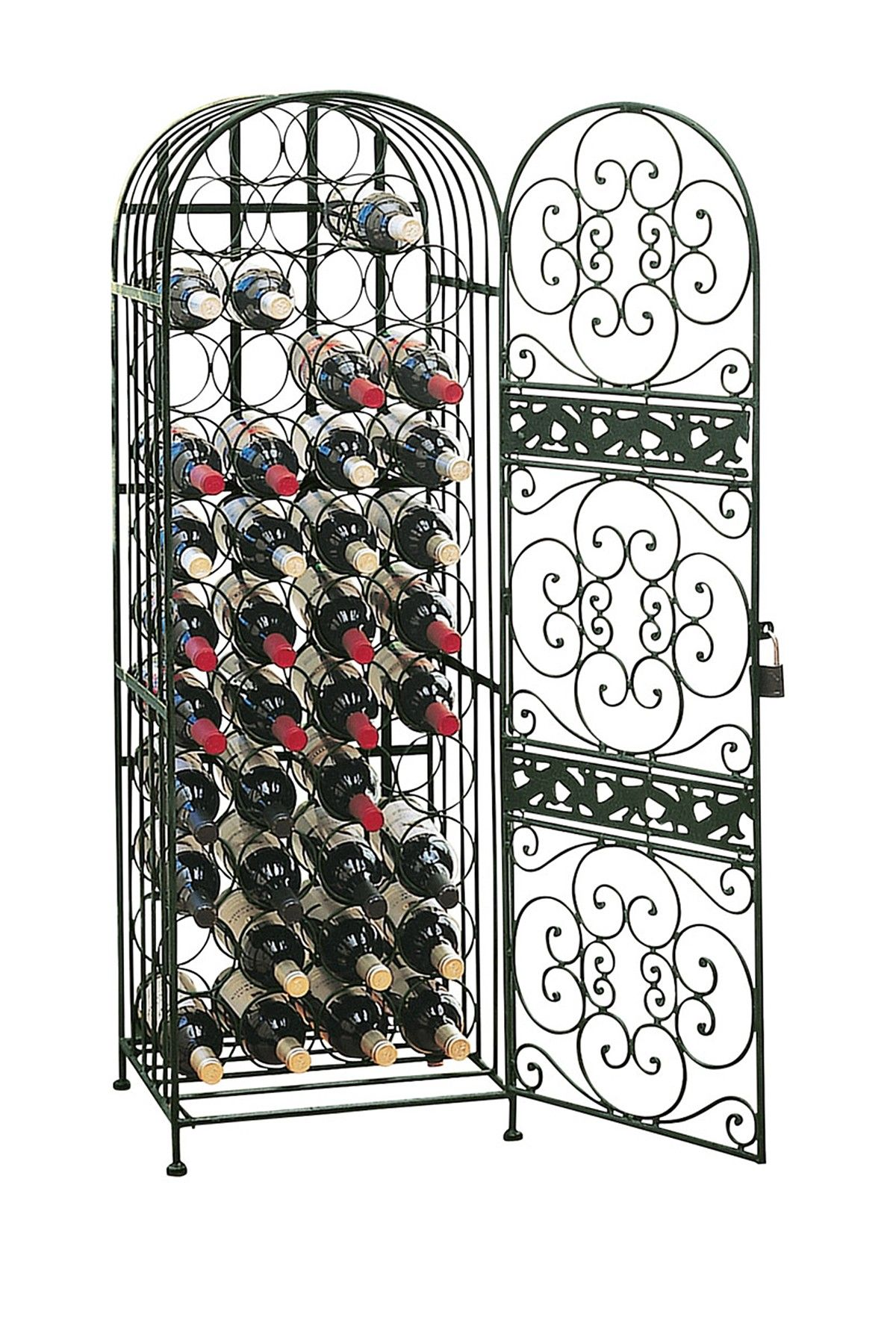Renaissance Wrought Iron Wine Jail On Hautelook For The Home