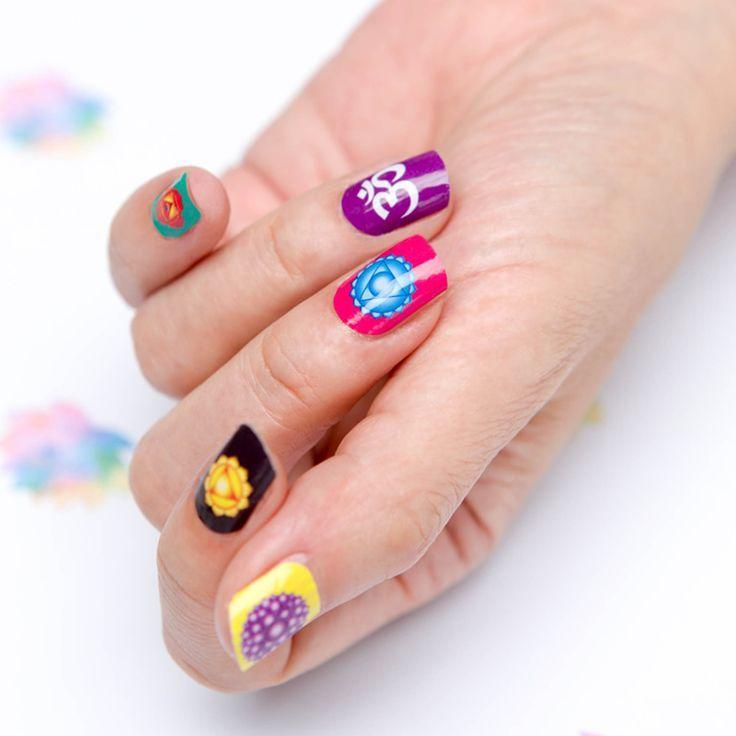 Zen themed nail art zen pinterest makeup zen themed nail art prinsesfo Gallery