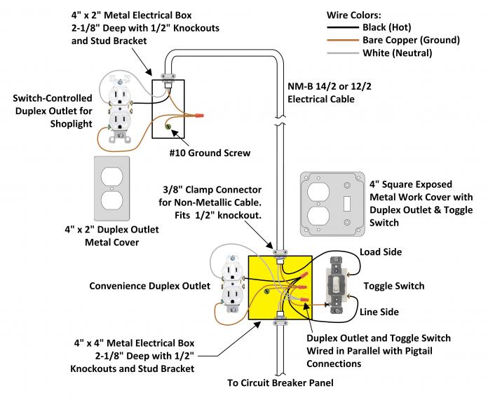 22 Stunning Electrical Switch Wiring Diagram bacamajalah
