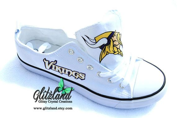 c650cfcf0205 CONVERSE Chuck Taylor With Minnesota Vikings Logo