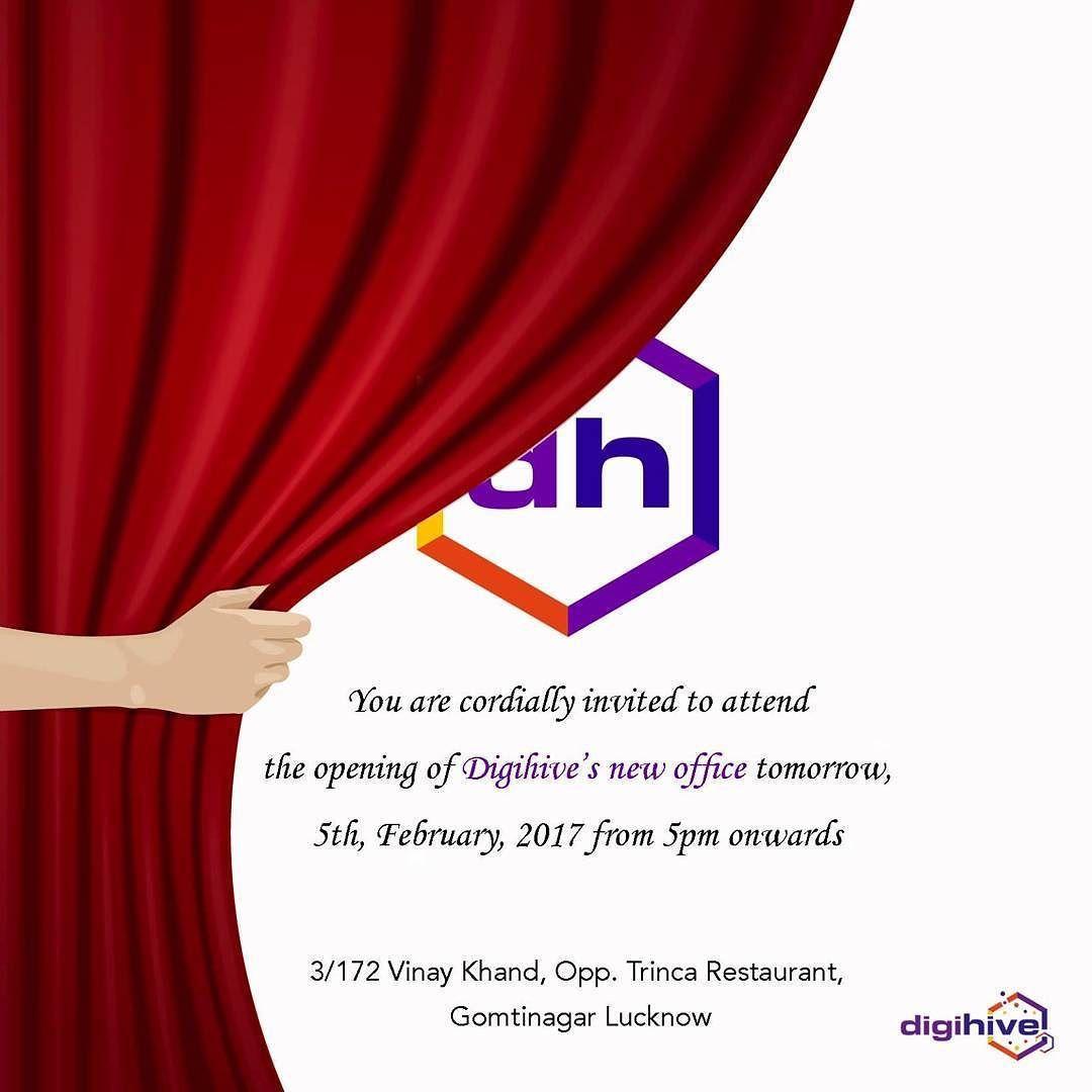 new office inauguration invitation