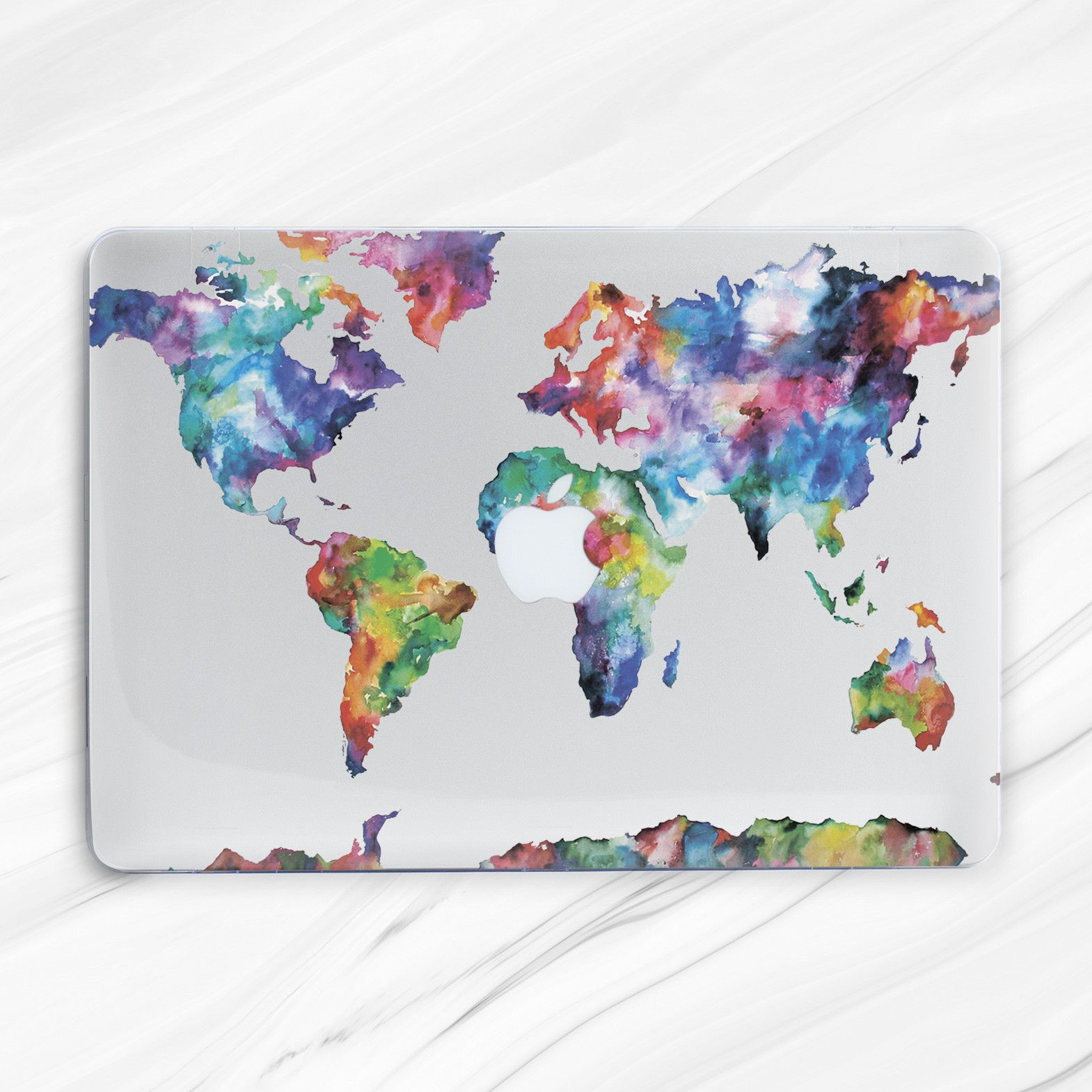World Map Macbook 12 Cover Map Macbook Air 11 13 Hard Case Macbook Pro 13 15