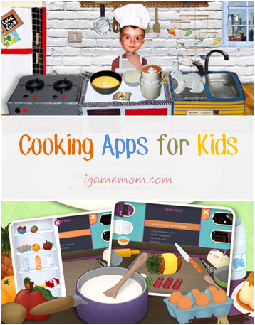 Lets get cooking fun cooking apps for kids kid cooking apps teaching kids cooking safe and fun way to teach kids about healthy food choices forumfinder Gallery