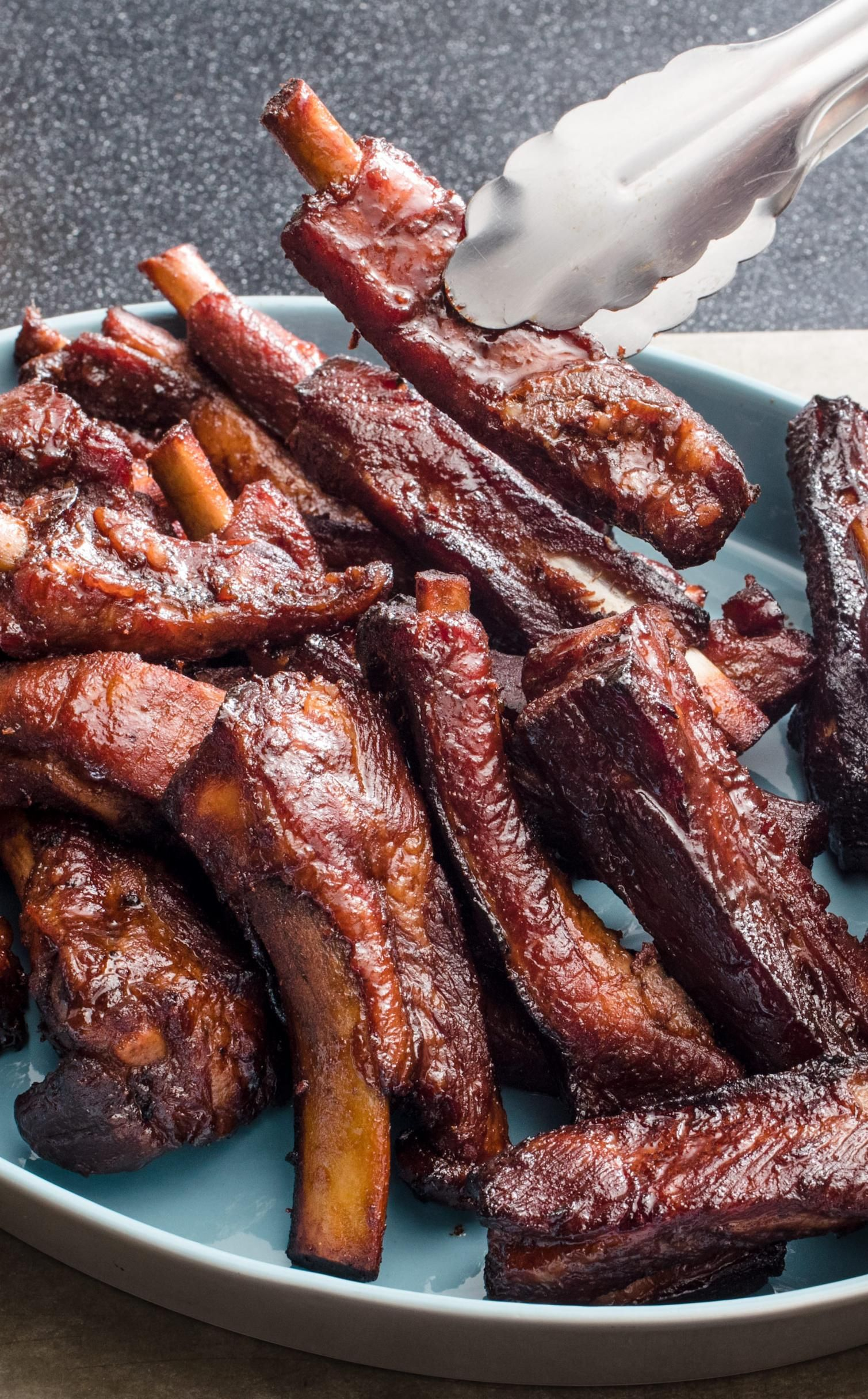 Chinese Barbecued Spareribs Some Barbecued Ribs Require You To