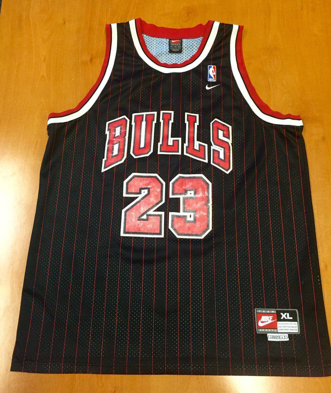 9a9040946b8e Vintage 1990s Michael Jordan Chicago Bulls Swingman Nike Jersey Size XL nba  finals shirt scottie pippen authentic air jumpman 45 48 champion by ...