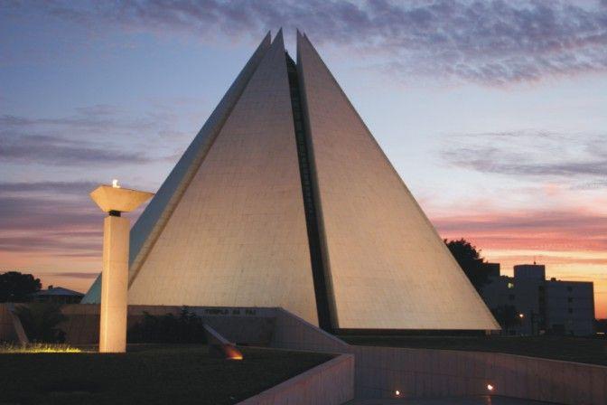 Templo da Boa Vontade - Brasilia, Brasil ~ Temple of Good Will
