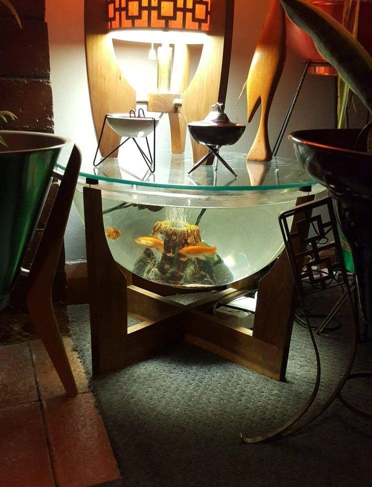 fish tank coffee table diy pvc