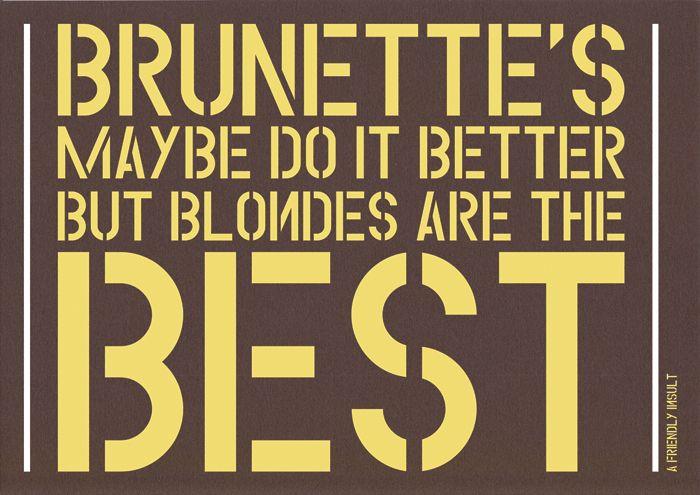 #blondestatus!!