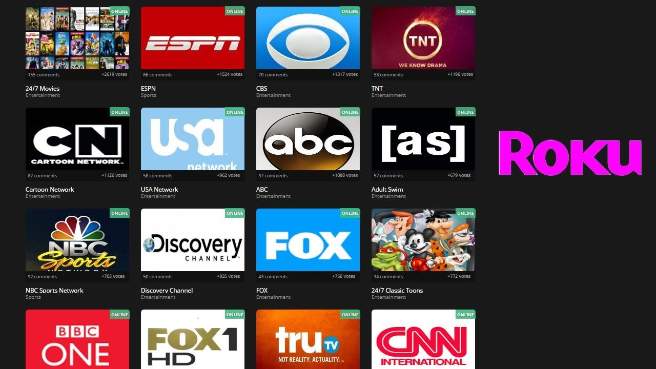 Free Live Cable Tv On Roku Youtube Free Tv Streaming Roku Tv Hacks
