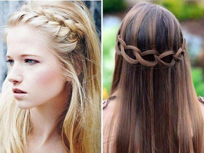 peinados de novia para pelo largo 2018 novias y bodas - Peinados Lisos