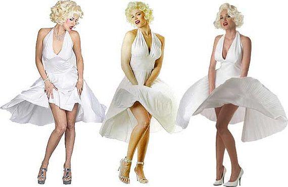 Adult Halloween Costume-Marilyn Monroe costume  sc 1 st  Pinterest & Adult Halloween Costume-Marilyn Monroe costume | Costumes and ...