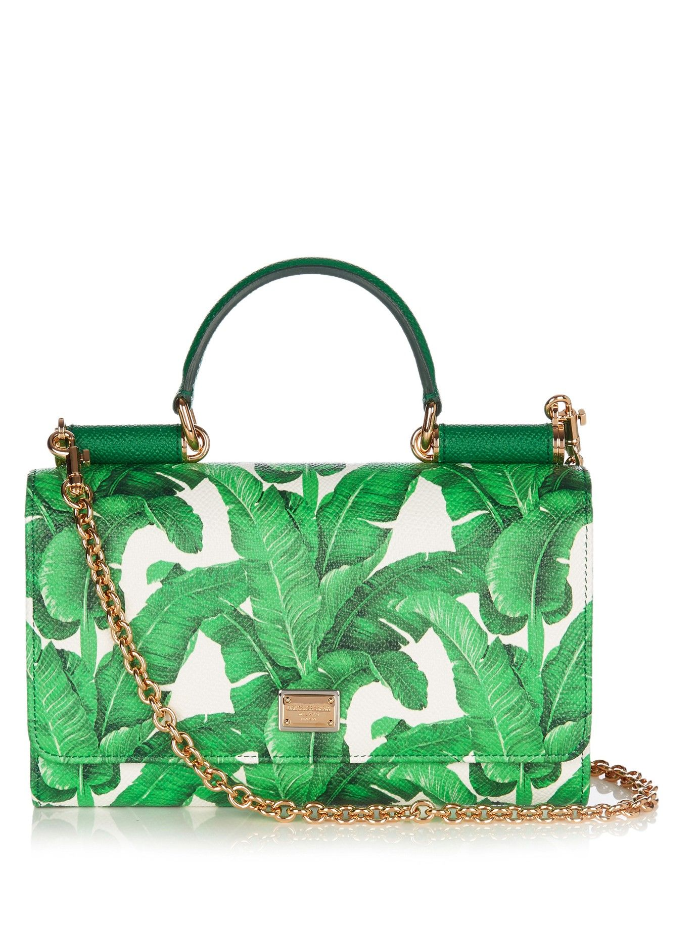 Gabbana Print Body BagDolceamp; Von Banana Cross Mini Leaf shrCtQd