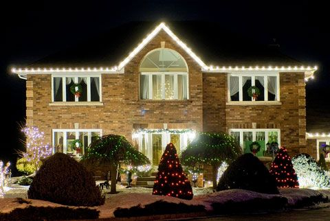 How to hang #holidaylights - the smart way. . .   Holiday at Home by ...