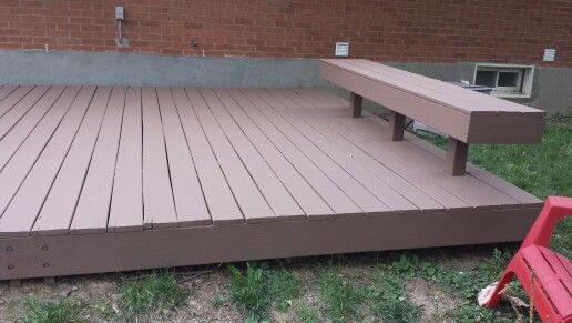 Behr Deck Over Paint Color Tugboat Painted 05 08 2014 I