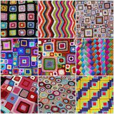 Resultado de imagen para crochet afgano patrones