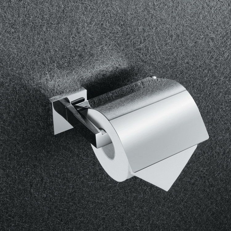 Factory Direct Sale Stainless Steel Toilet Paper Holder Chromed