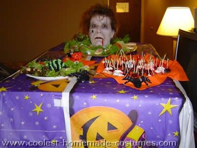 scary halloween costumes head on platter