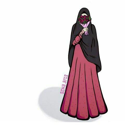 Kartun Islam Kartun Wanita Kartun Hijab